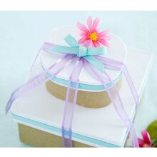 Boxed Ribbon Stacked Gift Boxes, medium