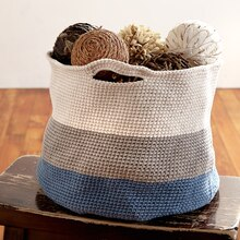 Bernat® Maker Home Dec™ Crochet Basket, medium