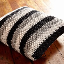 Bernat® Maker Home Dec™ Stepping Stripes Knit Pillow, medium