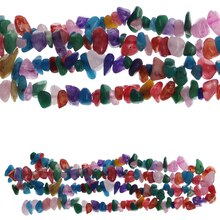 Bead Gallery Jasper Stone Chip Beads, Multicolor