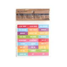 Craft It Organize It Chore Planner Stickers by Recollections