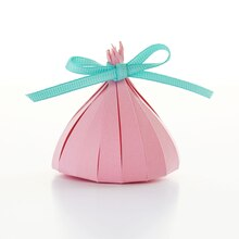 Boxed Ribbon Tied Paper Kiss Favor, medium