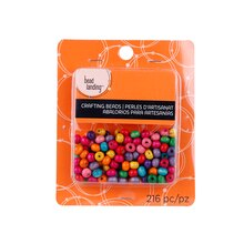 Small Wood Crafting Beads by Bead Landing, Brights