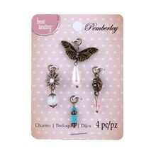 Pemberley Butterfly Charms by Bead Landing
