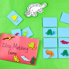 Land of Dinosaurs: Dino Memory Game, medium