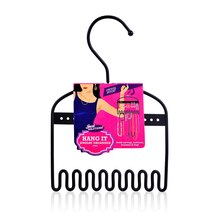 Just Solutions! Mini Hang It Jewelry Organizer, Black