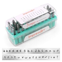 ImpressArt Juniper Letter Stamps Set, Lowercase