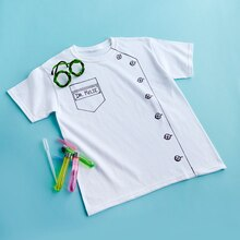 Birthday Party: Mad Science T-Shirt Smock, medium