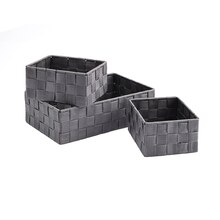 Gray Nylon Storage Basket Set by Ashland