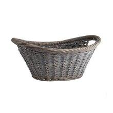 Gray Wash Laundry Basket by Ashland