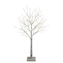 Apothecary & Company LED Birch Tree with Sturdy Base, 4 ft.