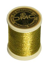 DMC Metallic Embroidery Thread, Dark Gold