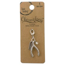 Charmalong Wishbone Charm by Bead Landing