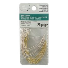 Assorted V Shape Earwires by Bead Landing