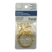Findings Kit by Bead Landing, 79 Piece, Gold