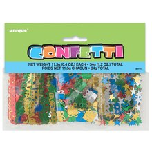 Foil Congratulations Confetti, Assorted 3pk