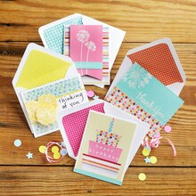 Paper Crafting Class: Happy Messages Birthday Card, medium