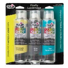 Tulip ColorShot Instant Fabric Color Firefly Set