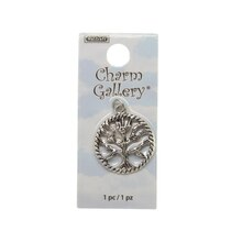Charm Gallery Silver Plated Charm, Tree of Life