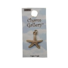 Charm Gallery 14K Gold Plated Charm, Starfish