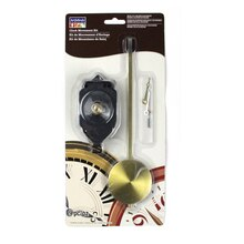 "3/4"" Clock Movement Kit with Large Pendulum by ArtMinds"