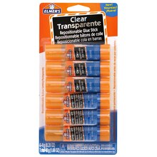 Elmer's Clear Repositionable School Glue Sticks