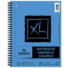 "Canson XL Watercolor Pad, 7"" x 10"""