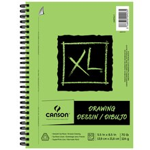 "Canson XL Drawing Pad, 5.5"" x 8.5"""