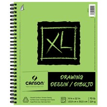 "Canson XL Drawing Pad, 9"" x 12"""