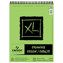 "Canson XL Drawing Pad, 11"" x 14"""