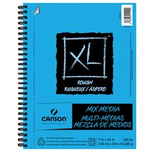 "Canson XL Rough Mix Media Pad, 7"" x 10"""