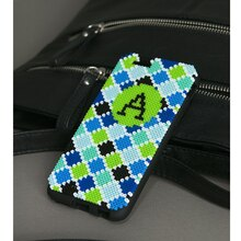 Perler® Mini Beads™ Monogrammed Phone Case, medium