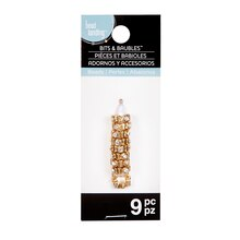 Bits & Baubles Gold Rondelle Spacer Beads by Bead Landing