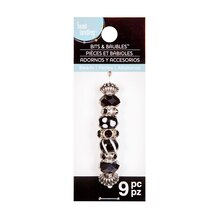 Bits & Baubles Black & White Beads by Bead Landing