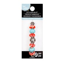 Bits & Baubles Coral &Turquoise Beads by Bead Landing