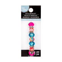 Bits & Baubles Turquoise & Hot Pink Beads by Bead Landing