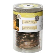 Apothecary & Company Copper Decorative Micro LED String Lights, 5 ft.