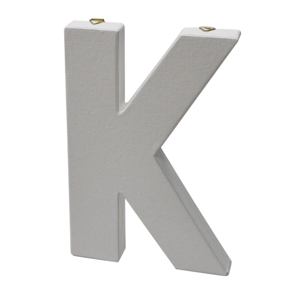 "12 Inch Galvanized Letters Make Market™ 12"" Canvas Letter"
