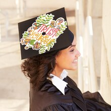Coloring Book Mortarboard, medium
