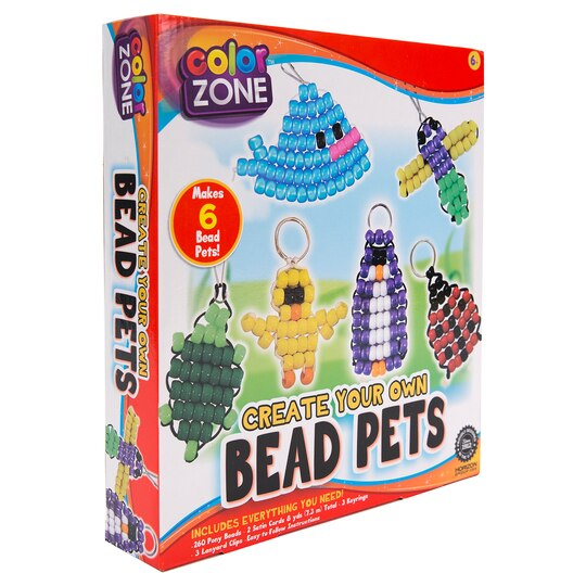 Color Zone™ Create Your Own Bead Pets Craft Kit