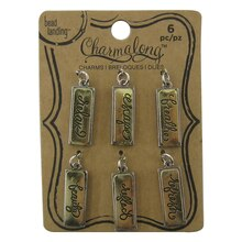 Charmalong Gold & Silver Inspirational Charms by Bead Landing