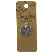 Charmalong D Letter Charm by Bead Landing