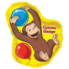 Giant Foil Curious George Balloon, 35""