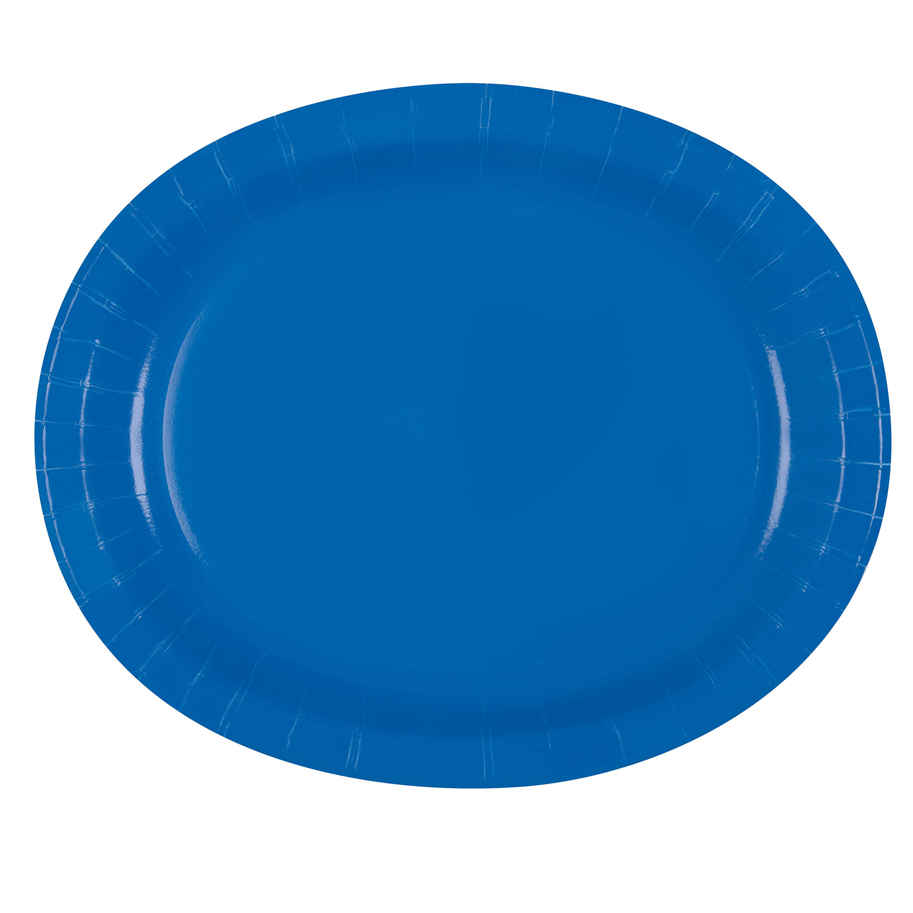12\  Oval Royal Blue Dinner Plates ...  sc 1 st  Michaels Stores & Royal Blue Oval Dinner Plates | Royal Blue Party Supplies