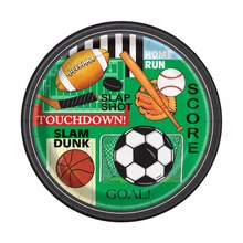 "9"" Classic Sports Party Plates, 8ct"