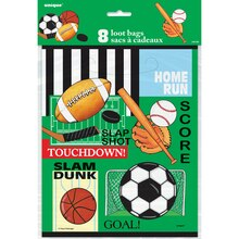Classic Sports Goodie Bags, 8ct