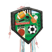 Classic Sports Pinata, Pull String