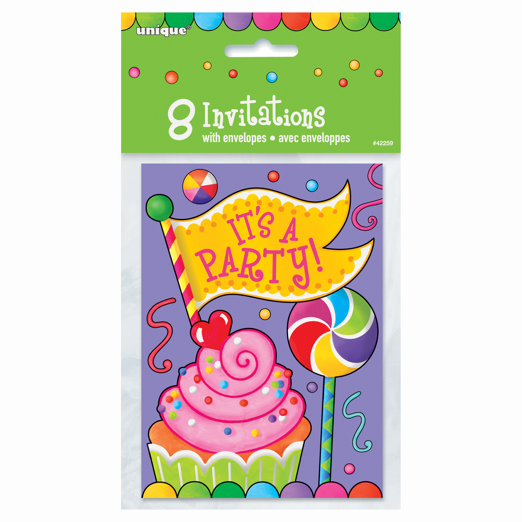 Candy Party Invitations – Candy Themed Party Invitations