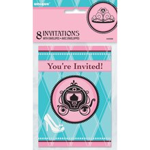 Fairytale Princess Invitations, 8ct