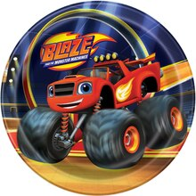 "7"" Blaze and the Monster Machines Party Plates, 8ct"